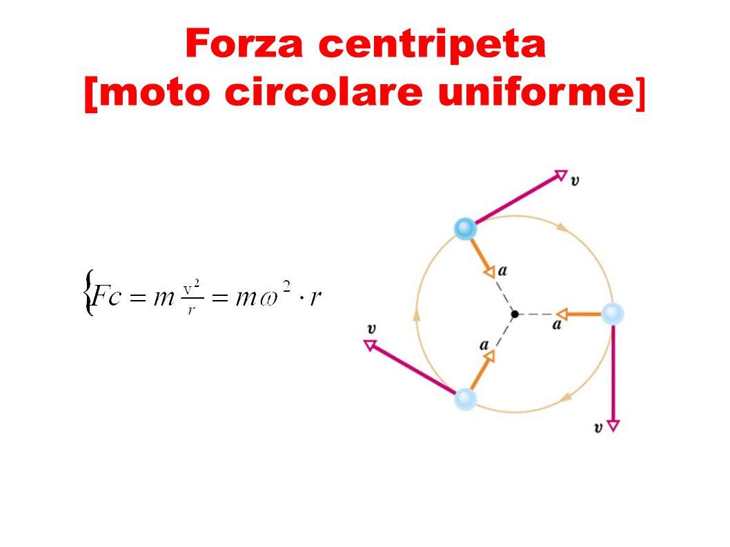 Forza centripeta [moto circolare uniforme]